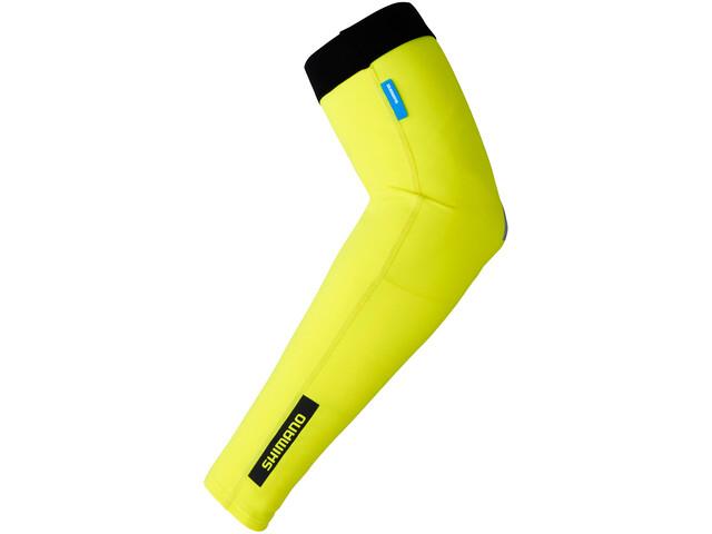 Shimano Armlinge neon yellow